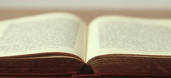 Bild på bok
